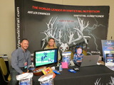 Shock Effect booth-Jacques, Melanie & Mason DeMoss