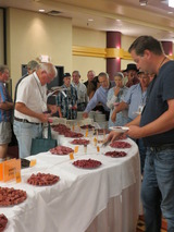 Elk meat competition-a favorite of the attendees!