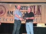 Mark Hendrickson receives member of the year award