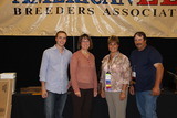 New staff-Travis, Brenda, Laurie and Pres. Kafka